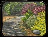 Amelia Park Summer Path, Paintings, Impressionism, Landscape, Oil, By Richard John Nowak