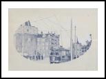 amsterdam (retro), Architecture,Graphic,Poster, Fine Art,Realism, Architecture,Cityscape, Mixed, By Oleg Kozelskiy