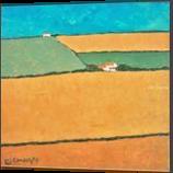 Andalusia Impression, Paintings, Fine Art,Impressionism,Realism, Landscape, Acrylic,Canvas, By David John Edwards