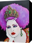 Anya (Anastasia) of Russia, Paintings, Modernism,Pop Art,Realism, Fantasy,Figurative,Portrait, Acrylic, By Lynne L Bolton