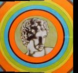 Apollo alla Galleria degli Uffizi, Graphic,Illustration,Paintings, Expressionism,Fine Art,Pop Art, Figurative,Mythical,Portrait, Oil,Painting, By federico cortese