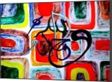 arabic calligraphy 1 Used by Fast and Furious 7 film, Calligraphy,Paintings, Abstract,Pop Art, Religious,Spiritual, Canvas,Oil,Painting, By asm g ambia