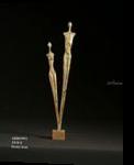 ARROWS, Sculpture, Expressionism, Figurative, Bronze, By Gevorg Tadevosyan