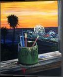 Artist View, Paintings, Fine Art, Conceptual, Acrylic, By adam santana