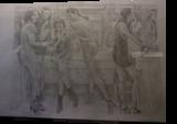 As Seen, Paper Art, Fine Art, Portrait, Pencil, By Terence Andrew Walton