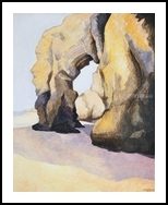 Atlantic cave, Paintings, Fine Art,Impressionism, Landscape,Seascape,Spiritual, Canvas,Oil,Painting, By Susan Kerr