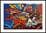attack, Digital Art / Computer Art, Expressionism,Modernism, Historical, Digital, By Nebojsa Strbac