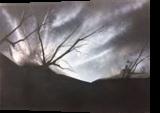 Aurora Sky, Paintings, Minimalism, Landscape, Oil, By Stephen Keller