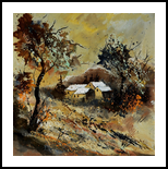 autumn 446110, Paintings, Expressionism, Decorative, Bronze, By Pol Henry Ledent
