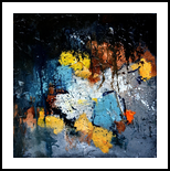 autumn 4461202, Paintings, Abstract, Decorative, Canvas, By Pol Henry Ledent