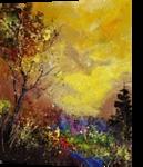 autumn 453111, Paintings, Impressionism, Landscape, Canvas, By Pol Ledent