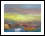 Autumn Haze, Paintings, Modernism, Avant-Garde, Acrylic,Canvas, By Joseph Culotta