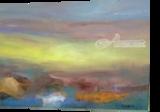 Autumn Haze, Paintings, Modernism, Avant-Garde, Acrylic,Canvas, By Joseph Culotta