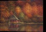 Autumn Retreat, Paintings, Fine Art, Landscape, Oil, By Sean Conlon