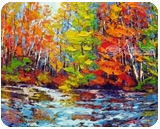 Autumn Stroll, Ottawa River, Paintings, Impressionism, Landscape, Oil, By Margaret Chwialkowska