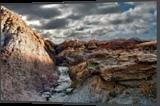 Badlands Clouds, Photography, Surrealism, Landscape, Metal, By Duane Klipping
