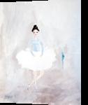 Ballerina, Paintings, Surrealism, Fantasy, Oil, By Natasa Menart