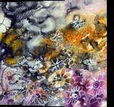 batik, Paintings, Abstract, Botanical,Floral, Mixed, By Maria Hristova Koleva