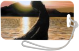 Beach silhouette #2, Paintings, Realism, Figurative,Nature,Seascape, Oil, By Ivan Pili