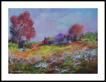 Beautiful colours in Nature, Paintings, Impressionism, Floral, Canvas, By Louis Pretorius