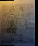 Beauty, Paper Art, Fine Art, Portrait, Pencil, By Terence Andrew Walton