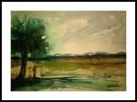 Beauty Of Bangladesh, Folk Art, Fine Art, Landscape, Watercolor, By asm g ambia