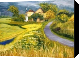 Before rain, Paintings, Impressionism, Landscape, Oil, By Elena Sokolova