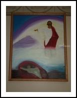 Begone Satan, Pastel, Fine Art, Spiritual, Painting, By Daniel R Perkins