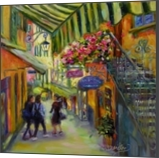 Bella Bellagio, Paintings, Fine Art,Impressionism, Architecture,Daily Life,Figurative,People, Oil, By Chris Brandley