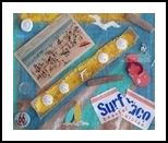 Belmar, Assemblage, Impressionism, Seascape, Mixed, By Briz Conard