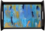 Beneath the Blue Tide, Paintings, Abstract,Expressionism, Conceptual,Decorative, Acrylic, By Lisa Annette Bowersock