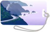 Big Sur, Digital Art / Computer Art, Surrealism, Landscape, Digital, By Tom Carlos