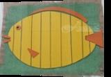 Big Yellow Fish, Assemblage, Pop Art, Decorative, Mixed, By Briz Conard
