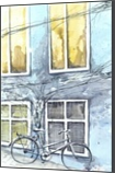 Bike, Paintings, Fine Art, Still Life, Watercolor, By Eugene Gorbachenko