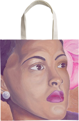 Billie Holiday, Paintings, Fine Art, Portrait, Oil, By Keith Carnell Lambert