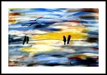 Birds In Autumn, Paintings, Pop Art, Animals,Landscape, Acrylic, By asm g ambia