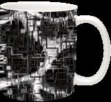 black and white installation, Digital Art / Computer Art, Abstract, Conceptual, Digital, By Nebojsa Strbac