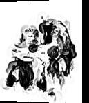 Black Gorilla, Digital Art / Computer Art, Abstract, Animals, Digital, By Joshua Bindseil