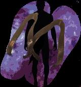 Black labyrinth man silhouette, Digital Art / Computer Art, Existentialism, Narrative, Digital, By Rosa C