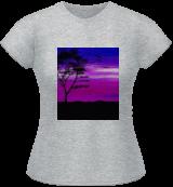 Black tree with birds silhouette, Digital Art / Computer Art, Commercial Design, Landscape, Digital, By Rosa C