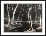 Blackness, Paintings, Impressionism, Landscape, Watercolor, By Stephen Keller