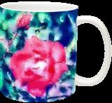 Blooming Rose, Decorative Arts,Digital Art / Computer Art, Fine Art,Minimalism,Photorealism, Decorative,Floral,Nature, Digital, By Henry Lizarraga