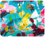Blossoming, Paintings, Abstract, Decorative,Floral, Acrylic, By Lyubov Kuptsova