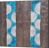 blue abstract diptych A134 Abstract Painting vertical wall art Acrylic Original Contemporary Art, Multipanel Art,Paintings, Abstract,Commercial Design,Minimalism,Modernism, Composition,Machnine Forms, Acrylic,Canvas,Mixed,Painting, By Ksavera Art