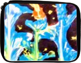 Blue Beauties, Paintings, Abstract,Expressionism, Botanical,Floral, Acrylic, By Lisa Annette Bowersock