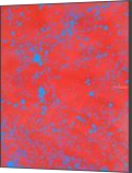 BLUE BLOOD, Paintings, Abstract, Fantasy, Canvas, By William Birdwell
