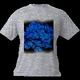 Blue Flowers in a Bunch, Digital Art / Computer Art, Realism, Floral, Digital, By Joshua Bindseil