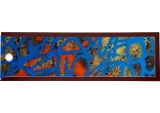blue hysteria, Paintings, Abstract, Decorative, Acrylic, By Marco Stoz Stazzini