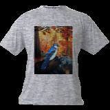 Blue Jay Life, Paintings, Fine Art, Animals, Acrylic, By adam santana
