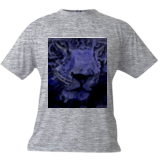 Blue Leopard edited, Digital Art / Computer Art, Abstract, Animals, Digital, By Joshua Bindseil